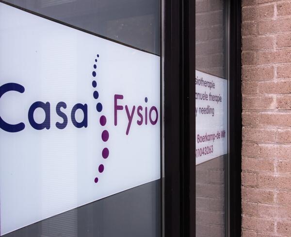 Ingang Casa Fysio
